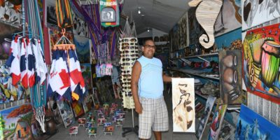 Berto gift shop in Sosua Beach
