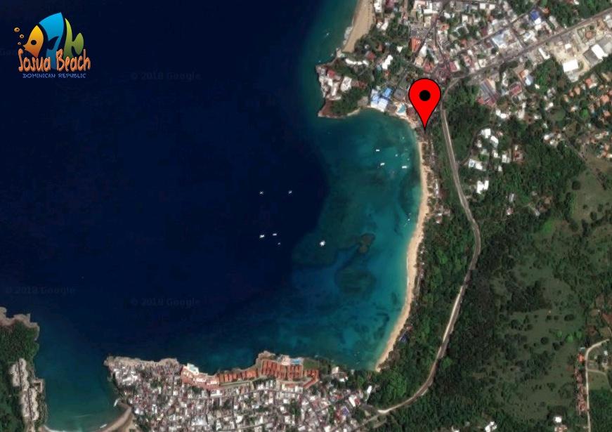 location map of casita azul