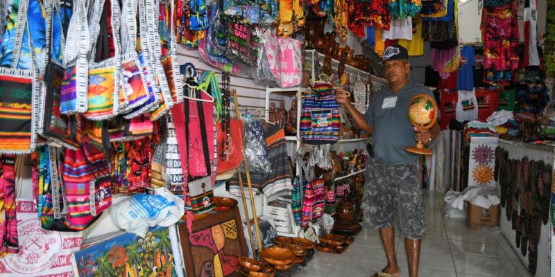 Daniel`s gift shop in Sosua beach