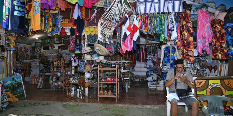 Fatima`s gift shop in Sosua beach