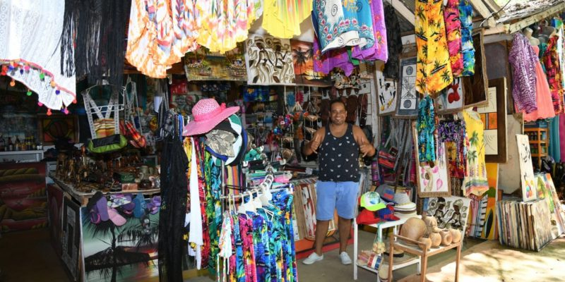John`s gift shop in Sosua Beach