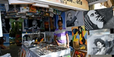 The Artist`s shop in Sosua Beach