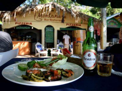 Montanara beach restaurant