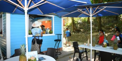 La Casita Azul Bar in Sosua Beach