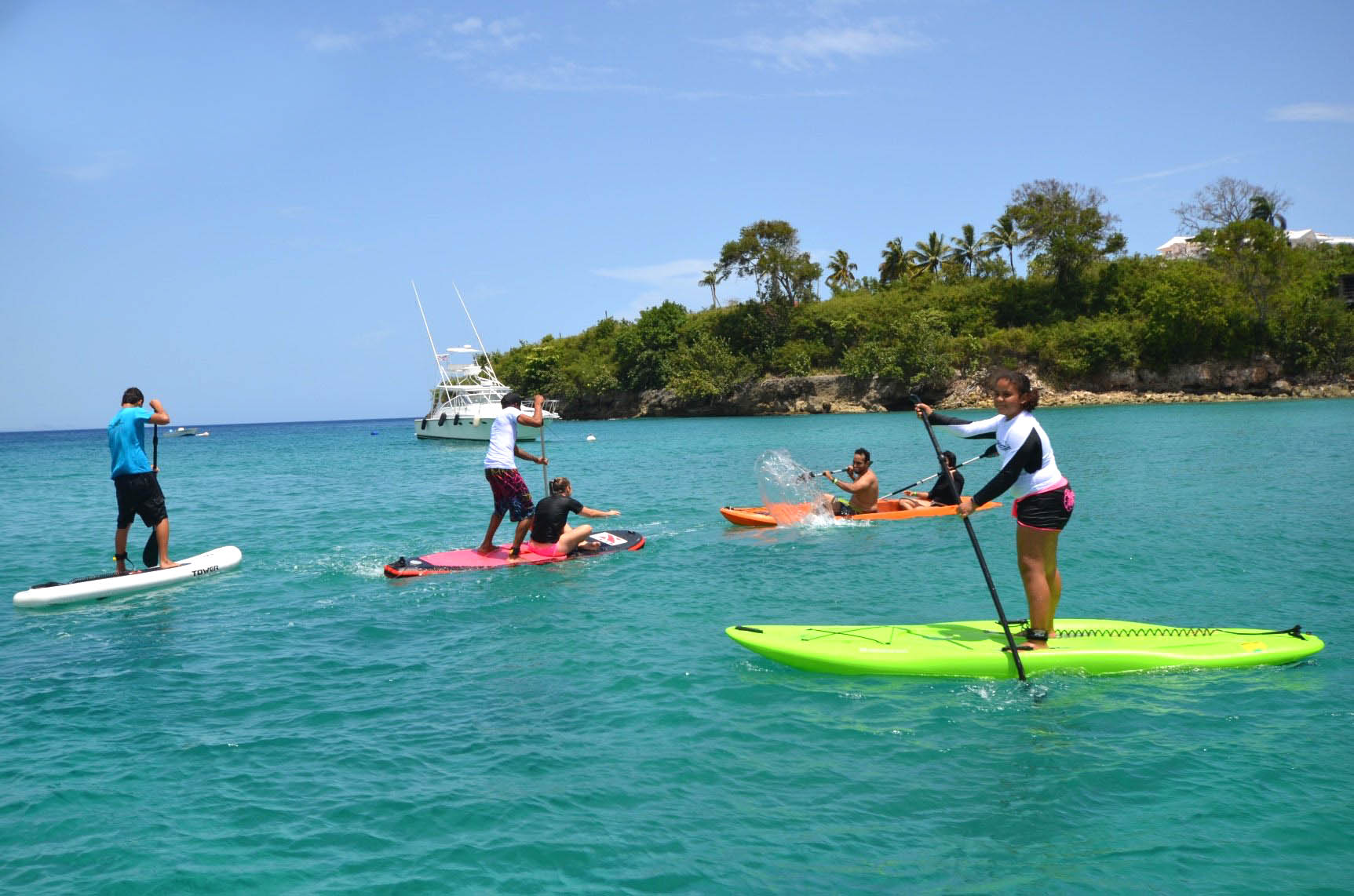 stand up paddle boarding Sosua