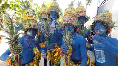 Comparsa at the 2019 Cabarete Carnival