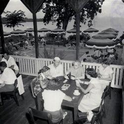 view of the garden city hotel, circa 1939