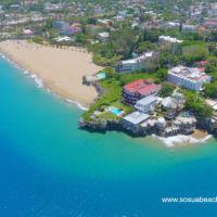 Alicia beach seen from the air