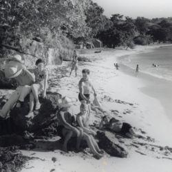sosua beach visitors circa 1941