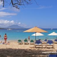 Sunny day in Sosua Beach