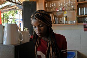 Bartender at Montanara restaurant